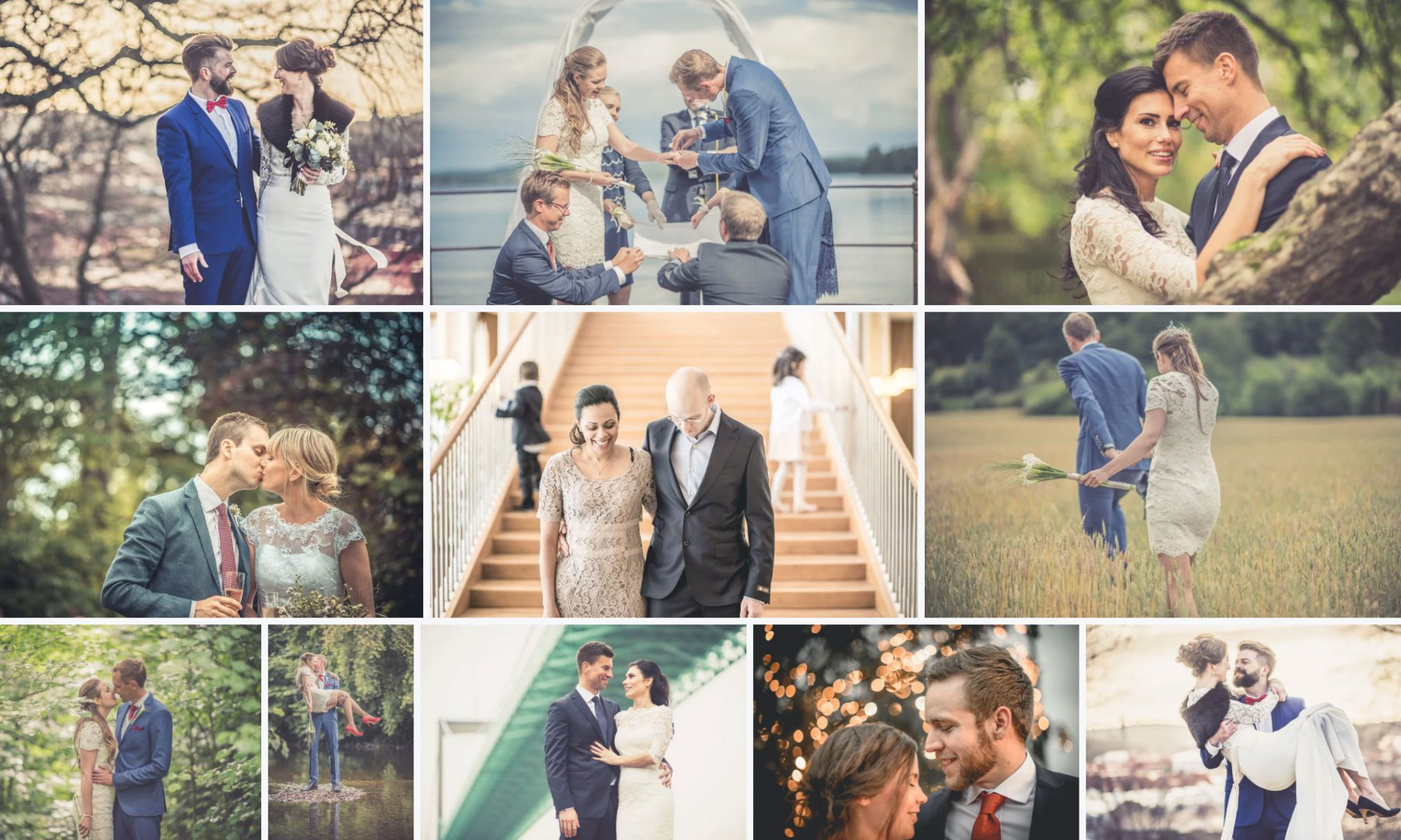 Bröllopsfotograf Axel Berglund